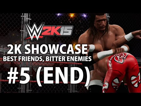 WWE 2K15 (Xbox One) 2K Showcase - Best Friends, Bitter Enemies Ending Gameplay Walkthrough Part 5