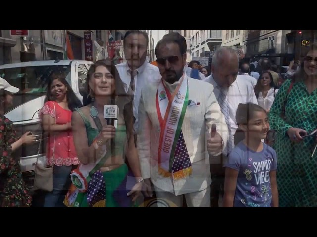 FIA 39th Annual India Day Parade Featuring Gulshan Grover & Suniel Shetty