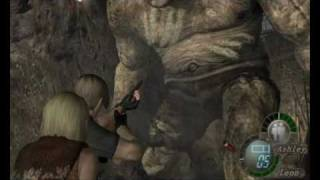 Resident Evil 4 (GamePlay+Mp3) Killing Giant!