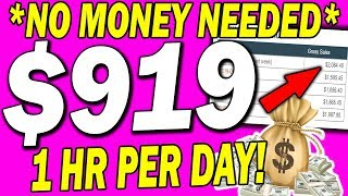 EARN Up To $919 a DAY With The BEST Way To 🔥Make MONEY Online🔥 As A BROKE BEGINNER! (2020)