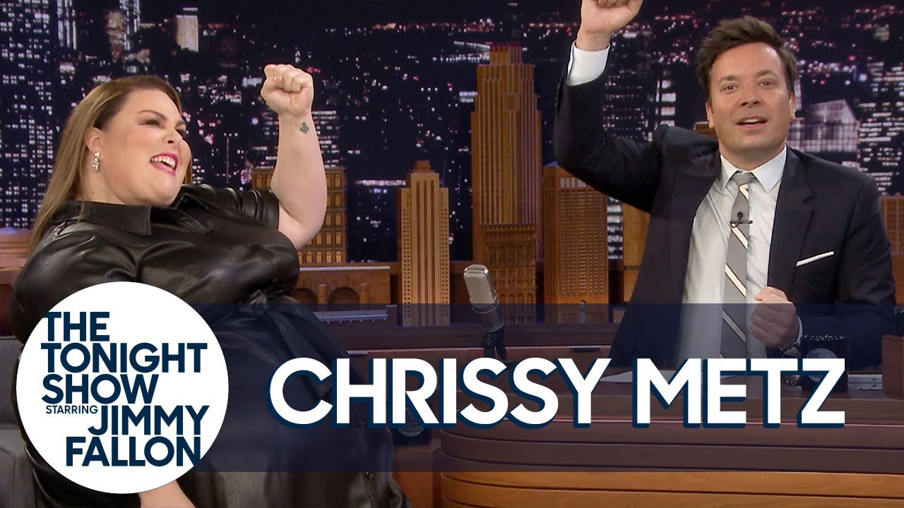 Chrissy Metz and Jimmy Improvise a This Is Us Theme Song