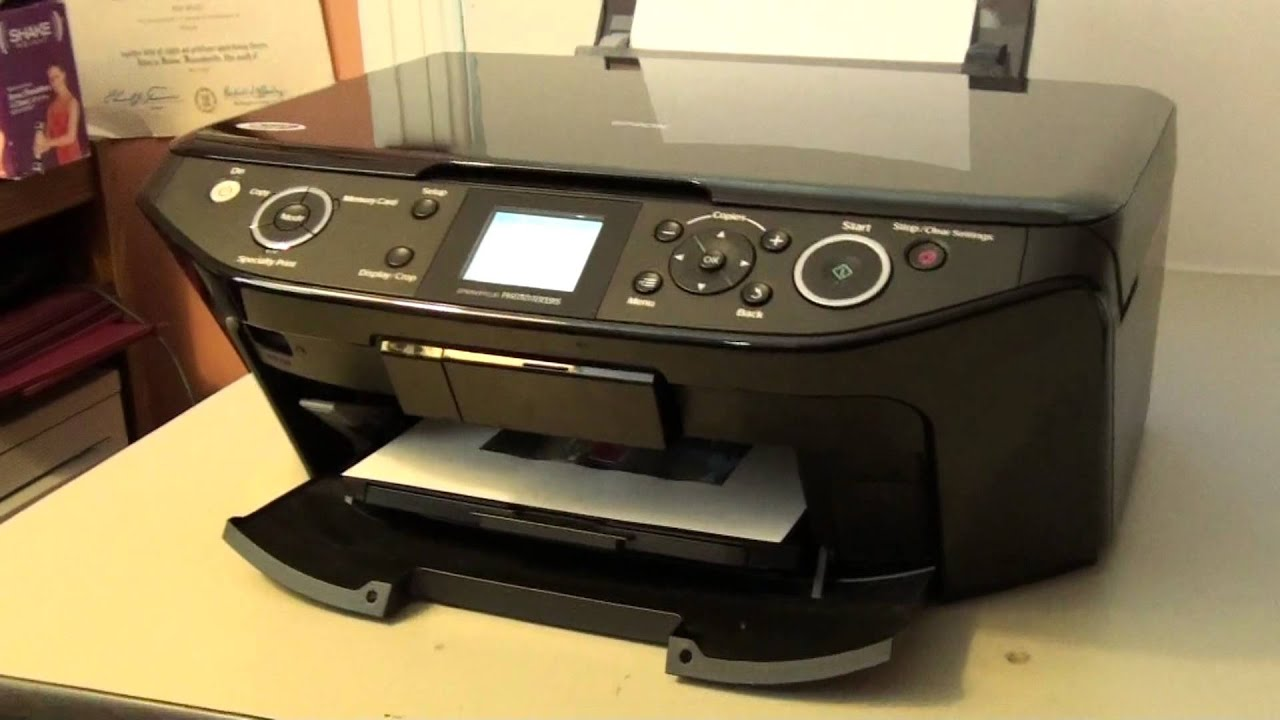 Epson Rx595 Printer Driver