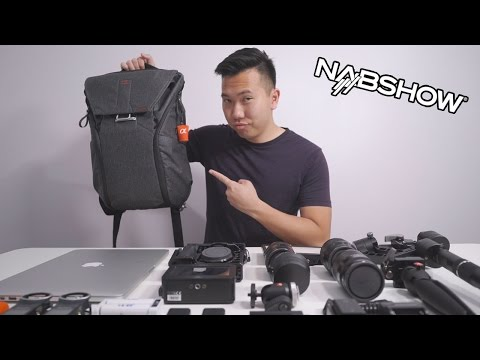 Thumbnail: What's in My Peak Design Everyday Backpack? - NAB 2017 - Sony a6500 Zhiyun Crane SmallRig