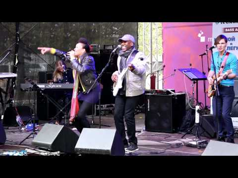 NAMM SHOW RUSSIA 2014 - Nathan East Perfomance - Get Lucky