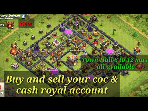 How To Sell My COC Account 2019 In Hindi,how To Buy And Sell COC Account 2019 In Hindi,Cash Of Clan