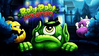 ROLY POLY MONSTERS walkthrough arcade GAMES PUZZLE part 10 - educational and fun videos for kids