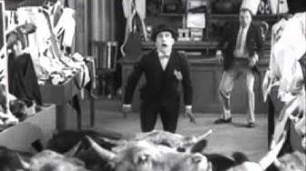film muet en noir et blanc - Ma vache et moi