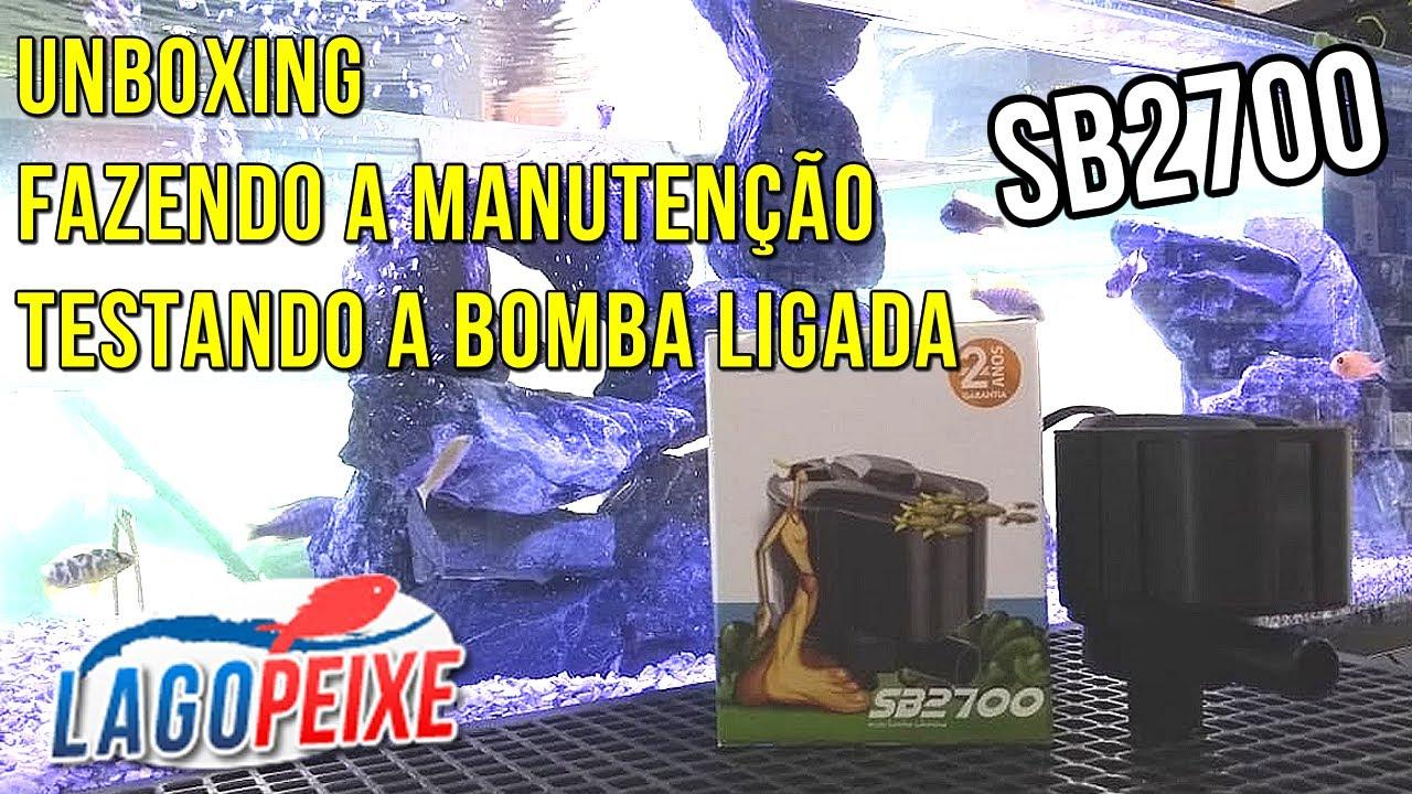 Sarlo Better SB 2700 UNBOXING +  manutenção +  bomba ligada