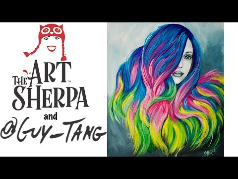 how-to-paint-unicorn-hair-acrylic-painting-tutorial-inspired-by-guy-tang