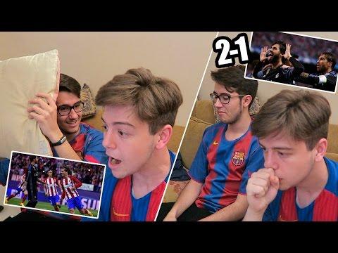 REACCIONES DE UN HINCHA Atlético de Madrid vs Real Madrid 2-1 SEMIFINAL CHAMPIONS LEAGUE 2017 - 동영상