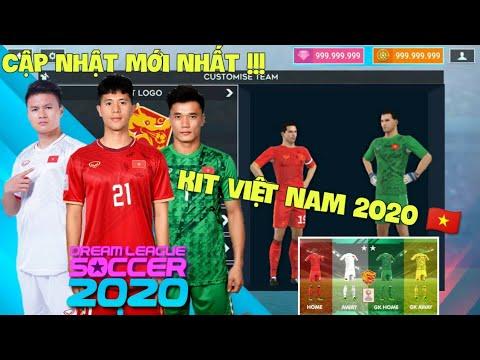 Hướng dẫn thay đổi LOGO và ÁO ĐẤU VIỆT NAM 2020 trong Dream League Soccer 2020