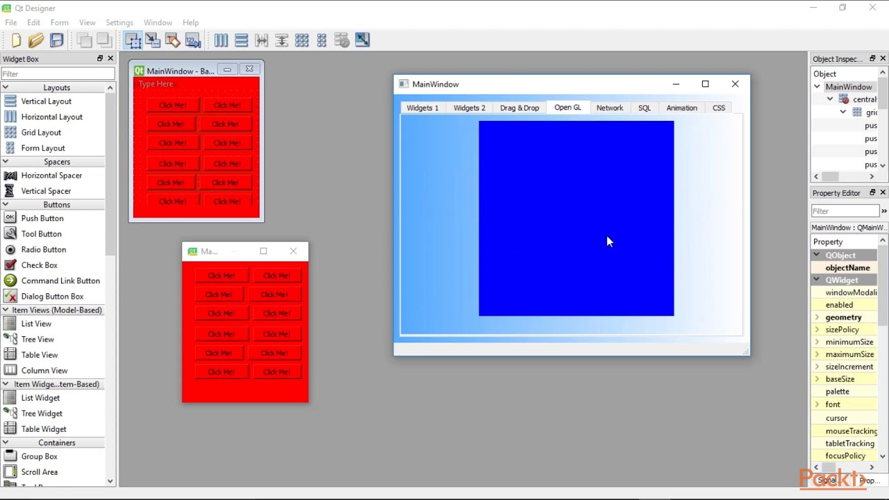 Python GUI Programming Recipes using PyQt5 :What We See when We Look at  Existing GUI|packtpub com