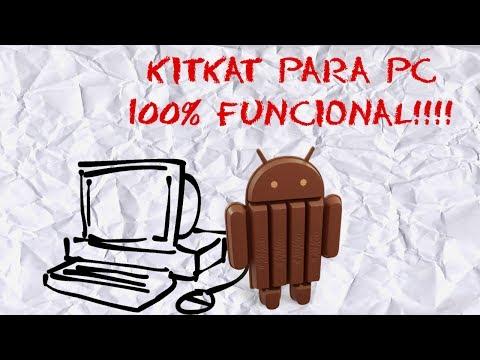 Instalar Android 4.4 kitkat en PC | Sin Emuladores