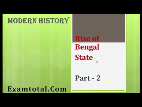 Nawab of Bengal : Rise of  autonomous state of Bengal: History for IAS/CSAT/SSC/CGL