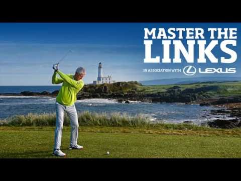 Golf swing tips with Andrew Murray - Driver shot - Master the Links with Lexus