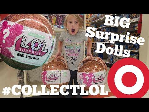 Lol Big Surprise Dolls Found At Target Toy Hunt