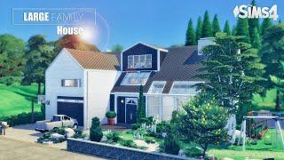 Дом Многодетной Семьи 🍼 | Уютный Интерьер | Без СС | THE SIMS 4 / Симс 4
