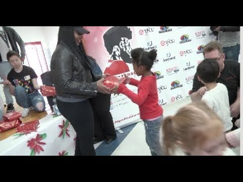 Khalid Foundation Donates Gifts to Whitaker Elementary