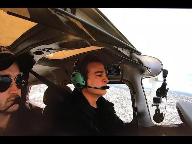 Flight Lesson # 1 - Rusty Pilot hasn't flown in 17 years  (KFRG)