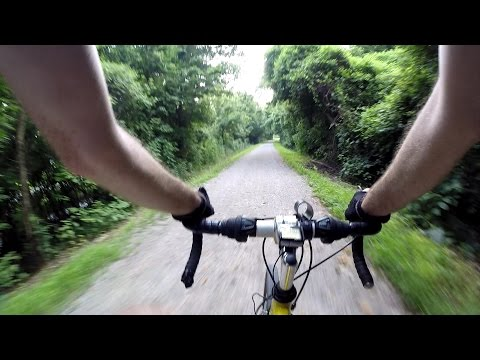 Katy Trail GoPro From McKittrick, MO To Portland, MO Bike Blogger