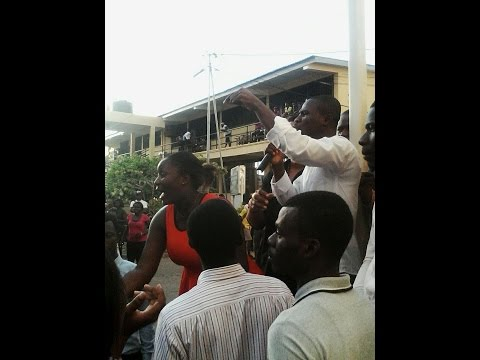 Accra Polytechnic Students Protest Against Management Over 'New Fees'