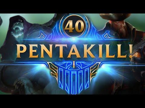 ARRRRG MARINEROS!! | TOP PENTAKILLS #40 (League of Legends)