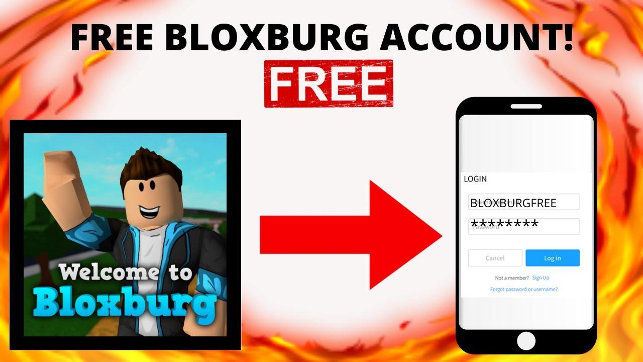 Free Bloxburg Account Pro Roblox Youtube