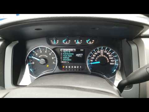 2014 F150 Hidden Digital Speedometer