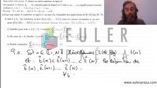 0.Exercice n°12. Majoration d'une somme - Prépa HEC - ECS - ECE