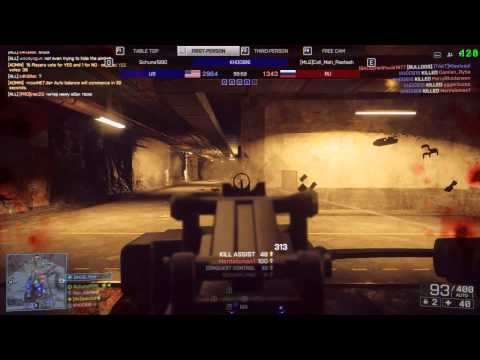 KHOOB16 Battlefield 4 Hacker goes 822-15 on Locker :(
