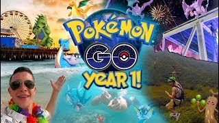 Pokemon Go Year 1 BEST Moments!