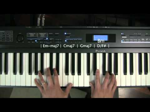 Loop 4 Chord Progression In G Piano Improvisation Lesson Play