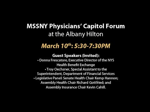 MSSNY Physicians' Capitol Forum