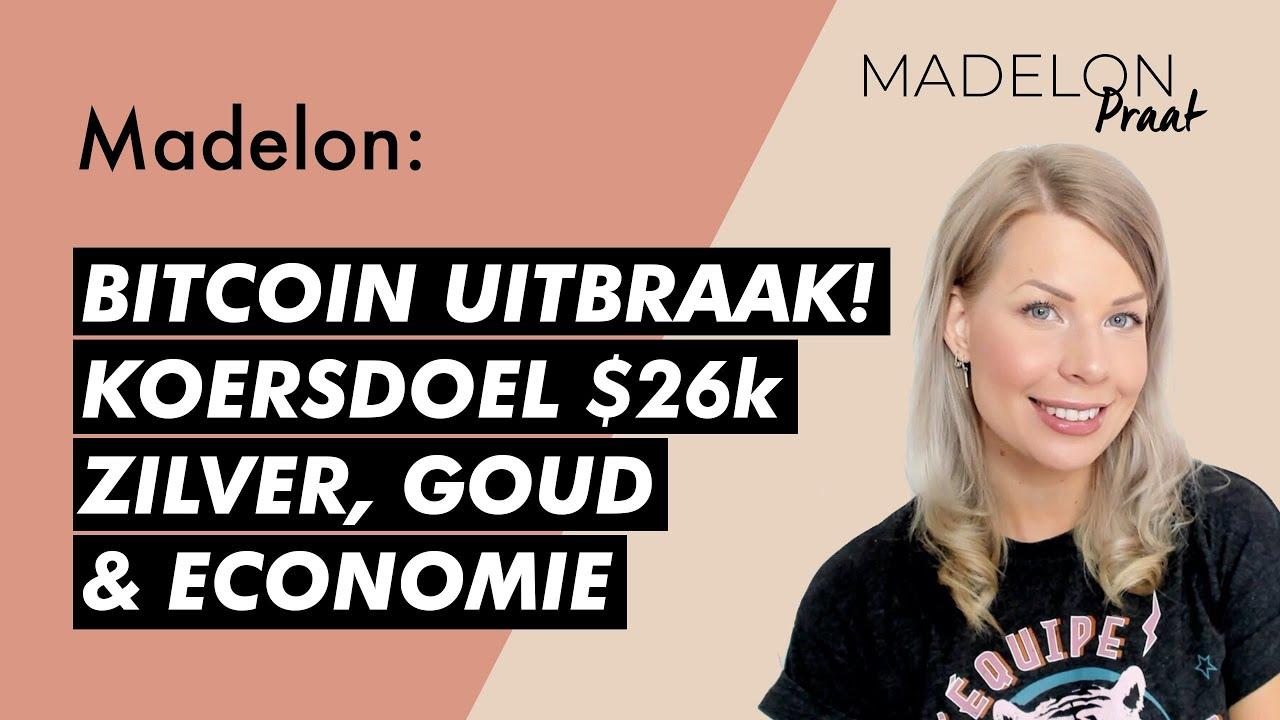 🚨 Mega koersdoel bitcoin, analyse goud, zilver koersen & economie   #62 Madelon Praat  Misss Bitcoin