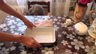 Куриная грудка запеченная в духовке с медовым соусом