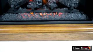 Electric fireplace Classic Flame Cannes Antique Oak