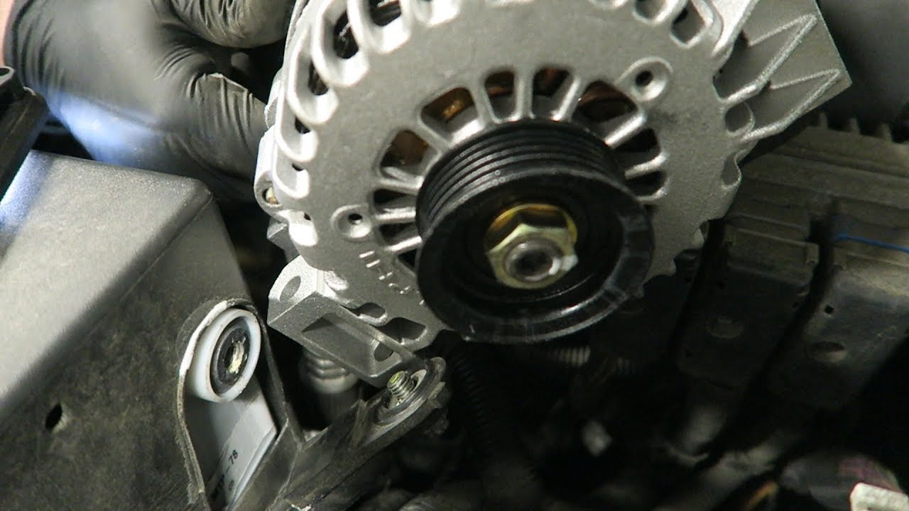 chevy trailblazer alternator replacement       easy as pie!