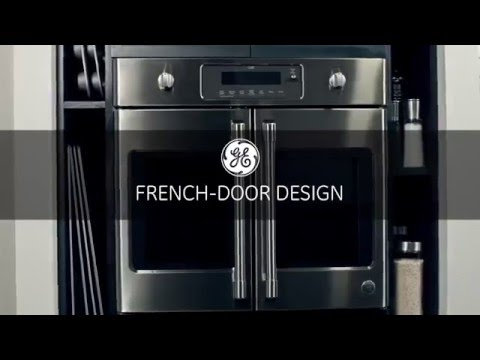 GE Cafe French Door Wall Oven CT9070SHSS At Appliancesconnection.com