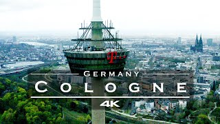 Cologne / Köln, Germany 🇩🇪 - by drone [4K] Part 2