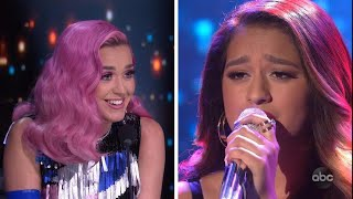 American Idol: Katy Perry Saves Singer From Elimination After She Covers One of Her Biggest Son…