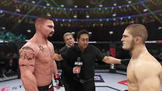 Yuri Boyka vs. Khabib (EA sports UFC 3) - CPU vs. CPU