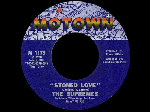 The Supremes ~ Stoned Love 1970 Disco Purrfection Version