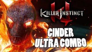 CINDER - FULL ULTRA COMBO & ENDER: Killer Instinct Season 2