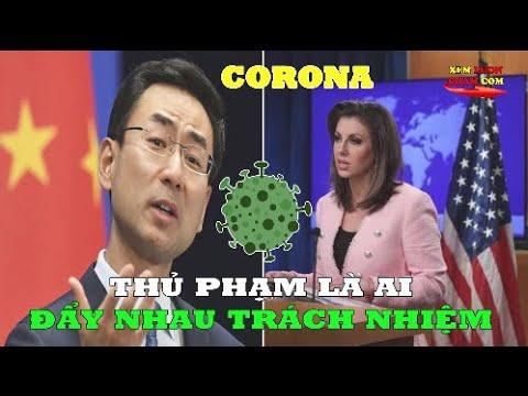 Mỹ Trung Tố Ngược Nhau Tạo Virus Covid 19