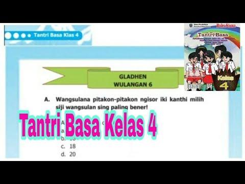Gladhen Wulangan 6 Tantri Basa Kelas 4 Sd Semester 2 Hal 110 Youtube