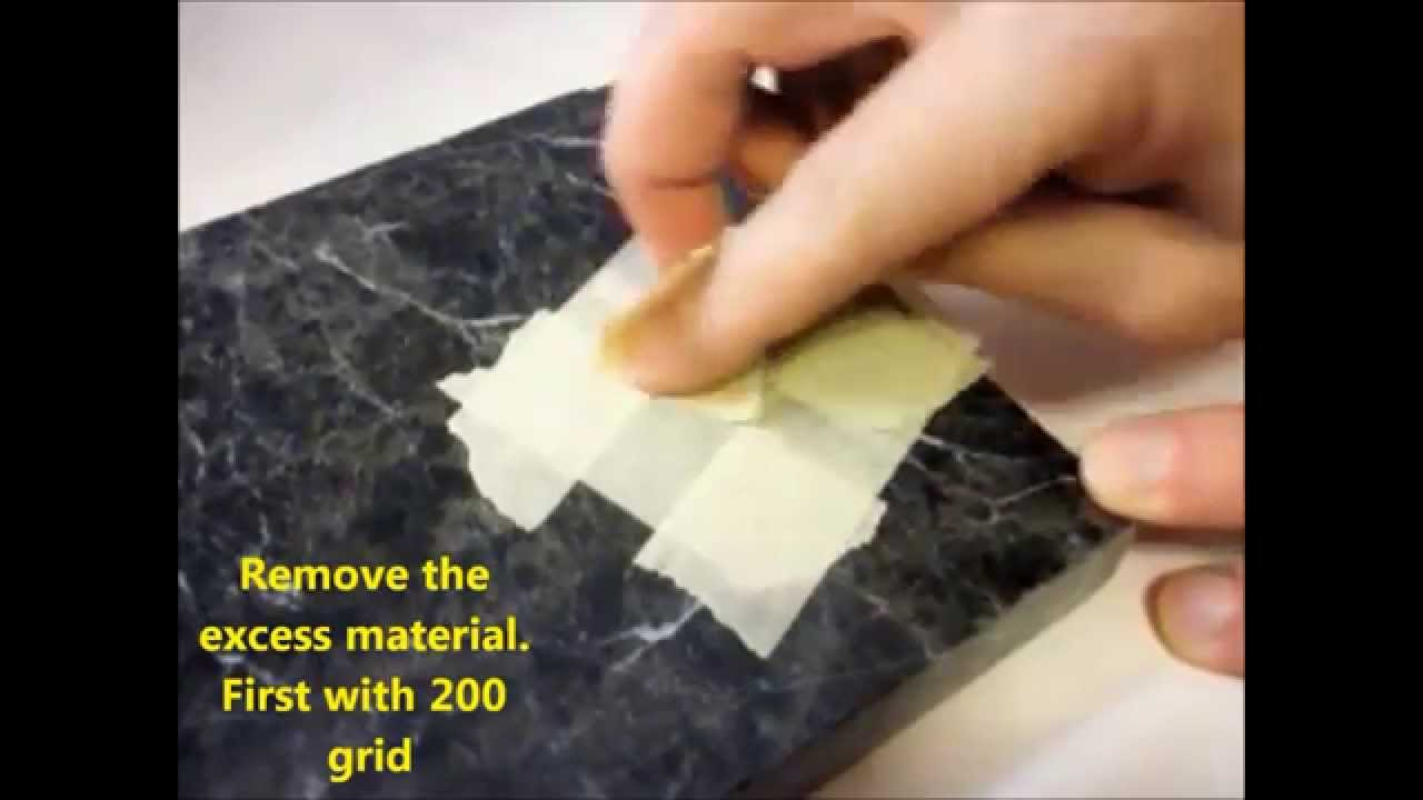 Repair A Chip In Granite Counter Top Fast And Easy Diy