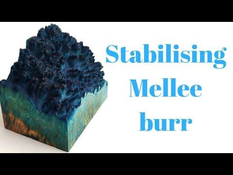 Mellee Burl / Burr Chess Set (Part 1)