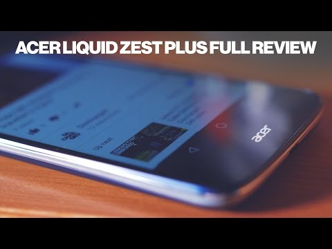 Acer Liquid Zest Plus Review - 3 day battery in a smartphone?