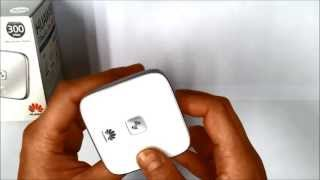 Huawei WS322/WS323 Mini Wireless Extender/Router/Client Unboxing
