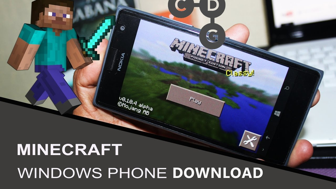 Скачать minecraft pocket edition бесплатно на windows phone